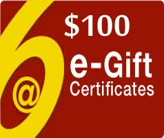 Image of $100 Gift Certificate - Via Email