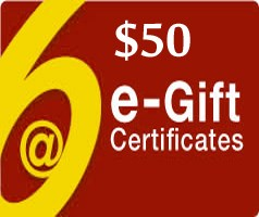 Image of $50 Gift Certificate - Via Email