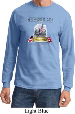 Image of 9-11 Never Forget Long Sleeve Shirt