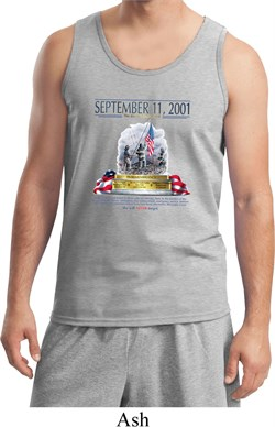 Image of 9-11 Never Forget Mens Tank Top