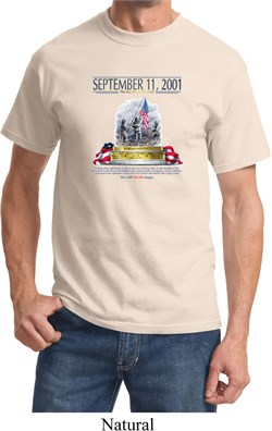 Image of 9-11 Never Forget Shirt