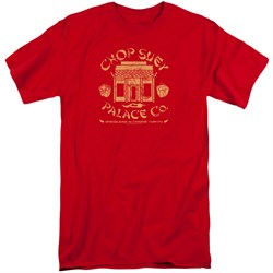 Image of A Christmas Story Shirt Chop Suey Palace Co Red Tall T-Shirt