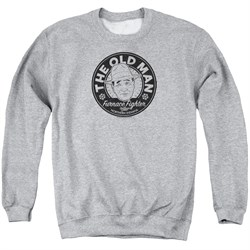 Image of A Christmas Story Sweatshirt The Old Man Adult Athletic Heather Sweat Shirt