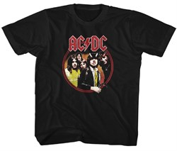 Image of AC/DC Kids Shirt Highway To Hell Black T-Shirt