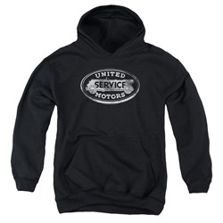 Image of AC Delco Kids Hoodie United Motors Service Black Youth Hoody
