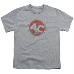 Image of AC Delco Kids Shirt Fire Ring Spark Plugs Athletic Heather T-Shirt