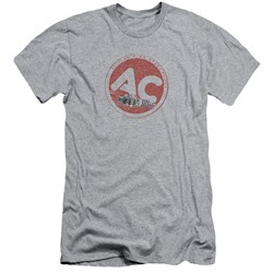 Image of AC Delco Slim Fit Shirt Fire Ring Spark Plugs Athletic Heather T-Shirt
