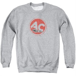 Image of AC Delco Sweatshirt Fire Ring Spark Plugs Adult Athletic Heather Sweat Shirt