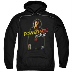 Image of ACDC Hoodie Powerage Black Sweatshirt Hoody