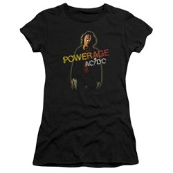 ACDC Juniors Shirt Powerage Black T-Shirt