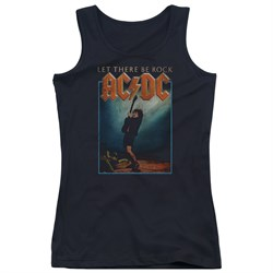 Image of ACDC Juniors Tank Top Let There Be Rock Black Tanktop