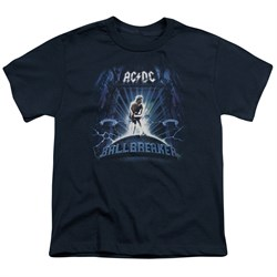 Image of ACDC Kids Shirt Ball Breaker Navy T-Shirt
