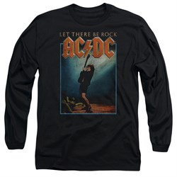 Image of ACDC Long Sleeve Shirt Let There Be Rock Black Tee T-Shirt