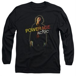 Image of ACDC Long Sleeve Shirt Powerage Black Tee T-Shirt