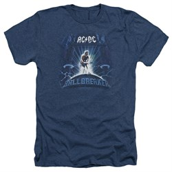 Image of ACDC Shirt Ball Breaker Heather Navy T-Shirt