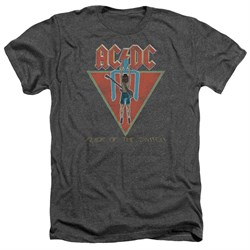 Image of ACDC Shirt Flick Of The Switch Heather Charcoal T-Shirt