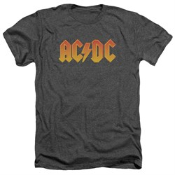 Image of ACDC Shirt Logo Heather Charcoal T-Shirt