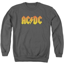 Image of ACDC Sweatshirt Logo Adult Charcoal Sweat Shirt