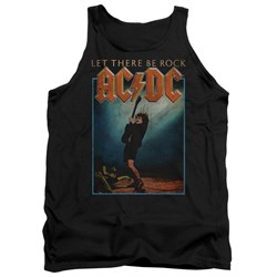 Image of ACDC Tank Top Let There Be Rock Black Tanktop