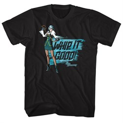 Image of Ace Attorney Shirt Whip It Good Black T-Shirt
