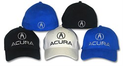 Image of Acura Flexfit Hat Fitted Adult Automotive Embroidered Cap