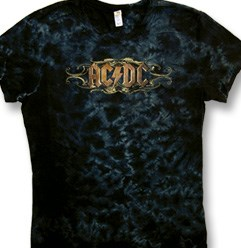ACDC Juniors T-shirt Tribal Scroll Tee Shirt