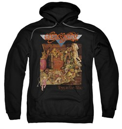 Aerosmith Hoodie Sweatshirt Toys Black Adult Hoody Sweat Shirt
