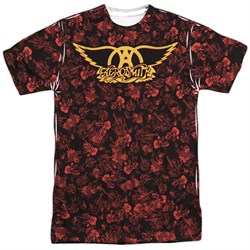Image of Aerosmith Shirt Vacation Sublimation Shirt