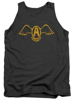 Image of Aerosmith Tank Top Retro Logo Charcoal Tanktop