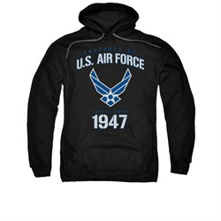 Image of Air Force Hoodie Property Of Black Sweatshirt Hoody