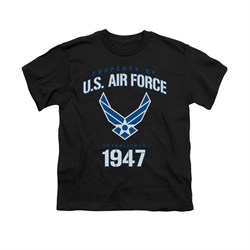 Image of Air Force Shirt Kids Property Of Black T-Shirt