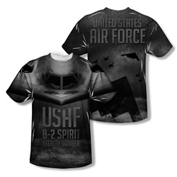 Image of Air Force Shirt Pilot Sublimation Shirt Front/Back Print