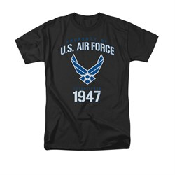 Image of Air Force Shirt Property Of Black T-Shirt