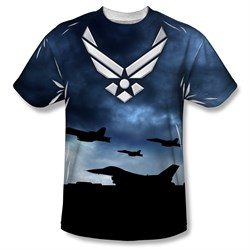 Image of Air Force Shirt Take Off Sublimation Shirt