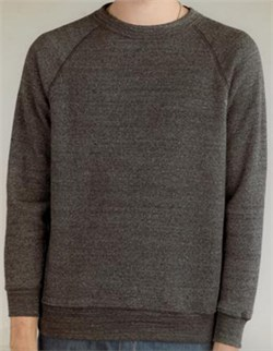 Image of Alternative Sweatshirt Men's Champ Fleece Black Sweat Shirt