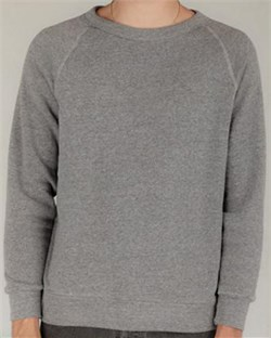 Image of Alternative Sweatshirt Men's Champ Fleece Eco Grey Sweat Shirt
