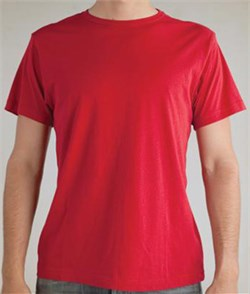 Image of Alternative Apparel Shirt Tear-Away Mens Tee Apple Red