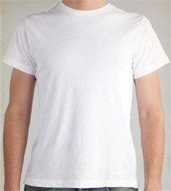 Image of Alternative Apparel Tear-Away Mens T-shirt - White