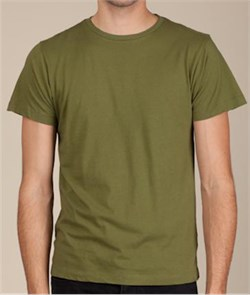 Image of Alternative Apparel Tear-Away Mens T-shirt - Army Green