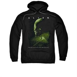 Image of Alien Hoodie From Within Black Sweatshirt Hoody