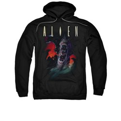 Image of Alien Hoodie Mouths Black Sweatshirt Hoody