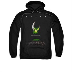 Image of Alien Hoodie Movie Poster Black Sweatshirt Hoody