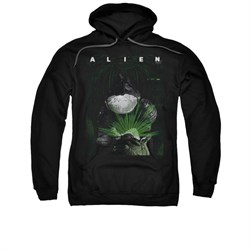Image of Alien Hoodie Take A Peak Black Sweatshirt Hoody
