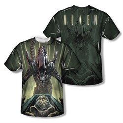Image of Alien Shirt Egg Collection Sublimation Shirt Front/Back Print