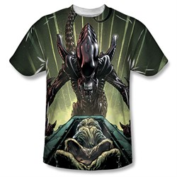 Image of Alien Shirt Egg Collection Sublimation Shirt
