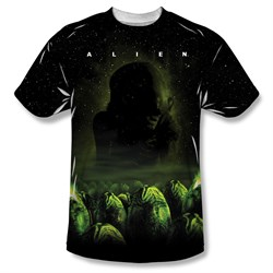 Image of Alien Shirt Eggs Sublimation Shirt