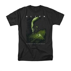 Image of Alien Shirt From Within Black T-Shirt