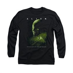 Image of Alien Shirt From Within Long Sleeve Black Tee T-Shirt