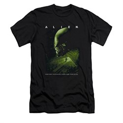 Image of Alien Shirt Slim Fit From Within Black T-Shirt