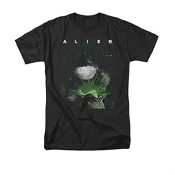Image of Alien Shirt Take A Peak Black T-Shirt